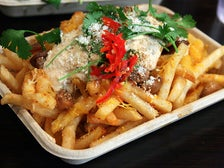 Ooey Gooey Fries at Chego!