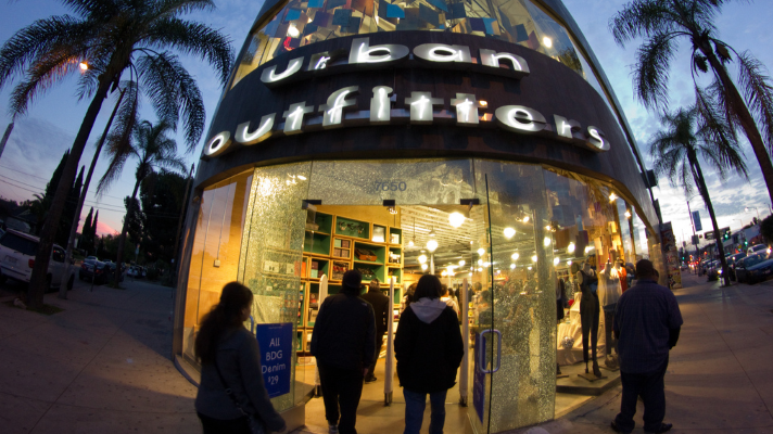 Urban Outfitters on Melrose Avenue