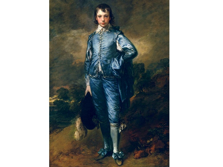 "Thomas Gainsborough, ""The Blue Boy"" at The Huntington"