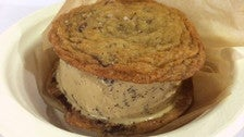 Ice cream sandwich at McConnell's